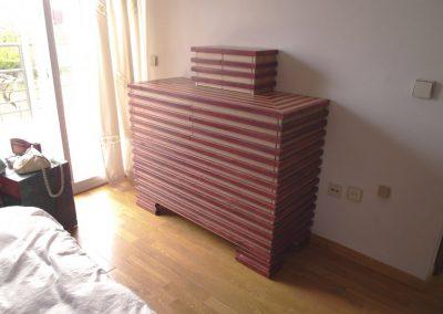 Comoda dos maderas
