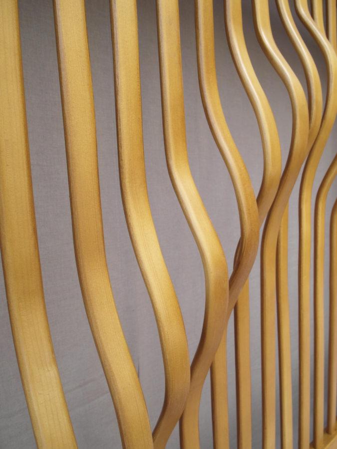 cubreradiador lamas curvas