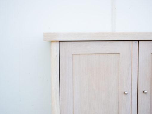 armario de oficina en roble