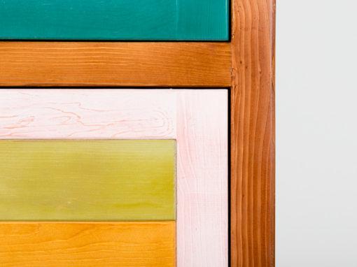 armario zapatero a todo color