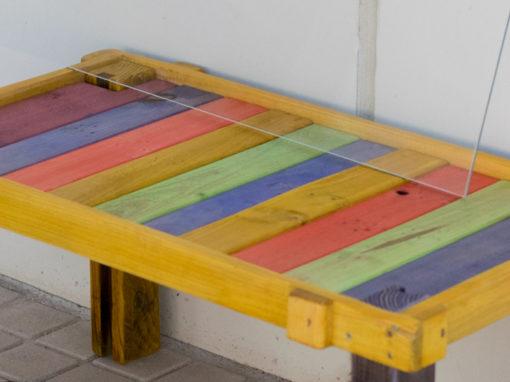 mesa de colores
